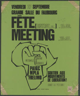 Fête meeting